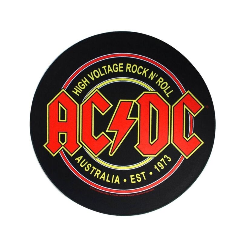 XLG AC/DC High Voltage Back Patch Rock & Roll Band Music Jacket Sew On Applique