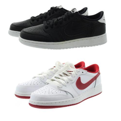 Nike 709999 Kids Youth Boys Air Jordan 1 Low Top Leather Shoes Sneakers