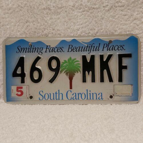 """Blechschild Nummernschild Original US Auto Kennzeichen """"SOUTH CAROLINA"""""""