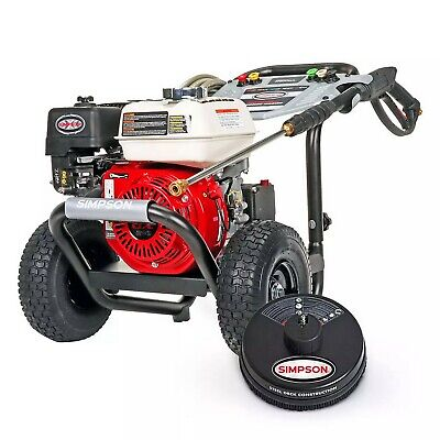 3500 Psi Gas Powered Pressure Washer Honda Gx200 Engine Commercial With 25 Hose