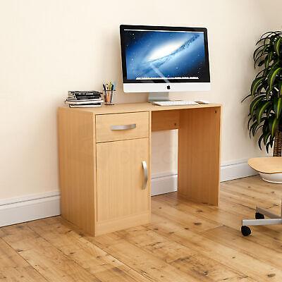 Hudson Computer (Hudson Computer Desk 1 Drawer 1 Door Laptop PC Table Home Office Study Pine)