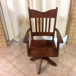 Antique Boardroom Swivel Chair Circa 1900 Cleve Cleve Area Preview