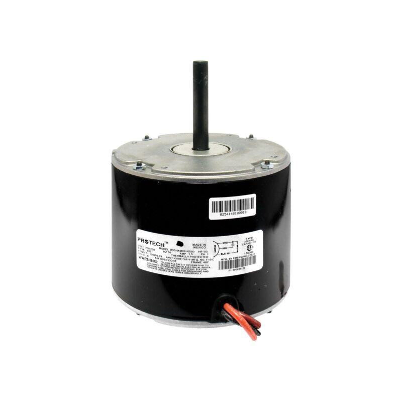 NEW Protech / Rheem / Ruud 51-42534-24 Package Condenser Motor (1/3HP 1075RPM)