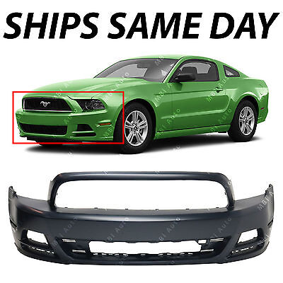 NEW Primered   Front Bumper Fascia Replacement for 2013 2014 Ford Mustang 13 14