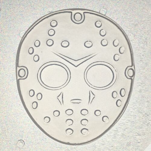 Flexible Resin Or Chocolate Mold Jason Hockey Mask Mould 2.5