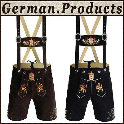 Authentic German Bavarian Trachten Oktoberfest Mens Short Lerderhosen Outfit Gp1