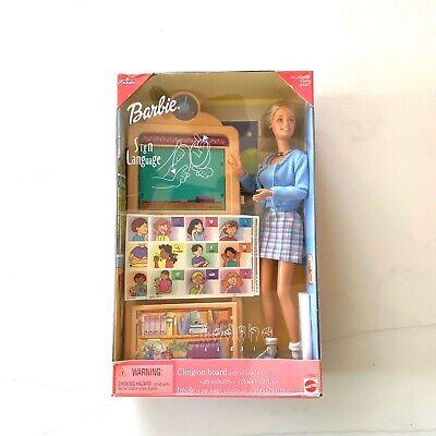 Sign Language Barbie Doll Caucasian Toys R' Us Exclusive 1999 Mattel 25837 ASL