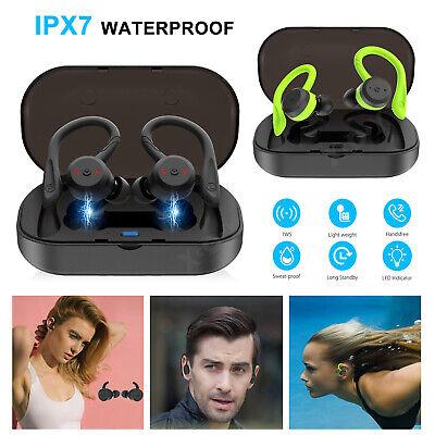 Wireless Bluetooth 5.0 Earphones Headphones Stereo In Ear Sport IPX7 Earbuds UK
