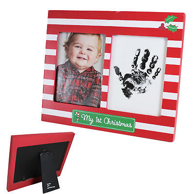 My 1st Christmas Photo & Hand Print Frame - Red / White](My First Halloween Frame)