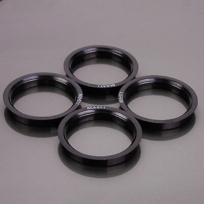 Alloy Wheel Hub Centric Spigot Rings 57.1 - 66.6 Wheel Spacer Set of 4
