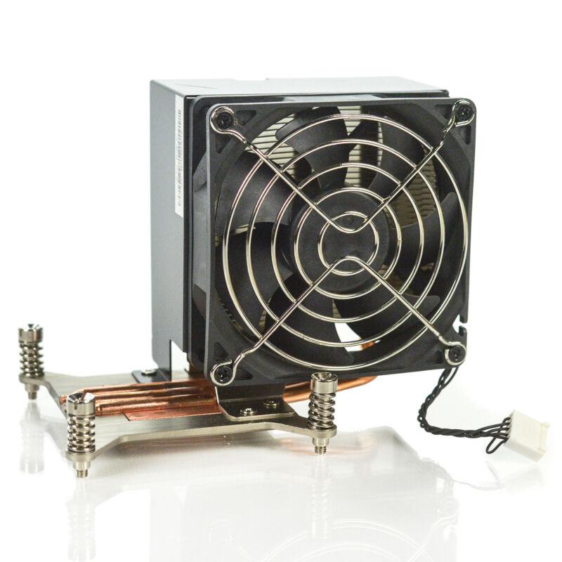 Genuine HP Z420 Z620 Workstation CPU Heatsink & 5-Pin Fan Assembly 647287-001