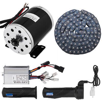 1000w 48v Dc Electric Motor Kit Control Box F Scooter Ebike Gokart Diy