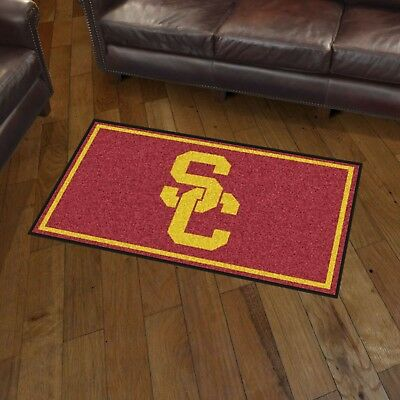 USC Trojans 3' X 5' Decorative Ultra Plush Carpet Area - Usc Decorations