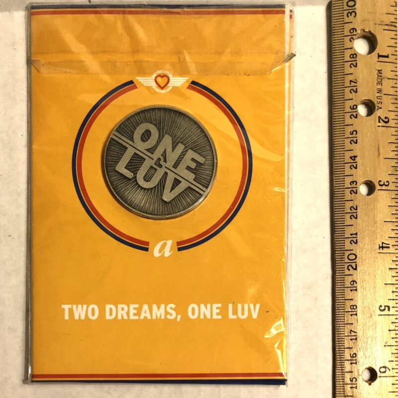 Southwest Airlines Air Tran Airlines One Luv Coin New