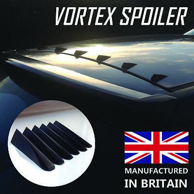 Universal Vortex Spoiler Generator EVO Styling Shark Roof Fins Body Kit