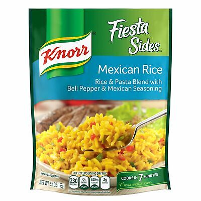 Knorr Fiesta Side Dish Mexican Rice 5.4 oz, Free Shipping, Lot of 2 - Mexican Rice Dish