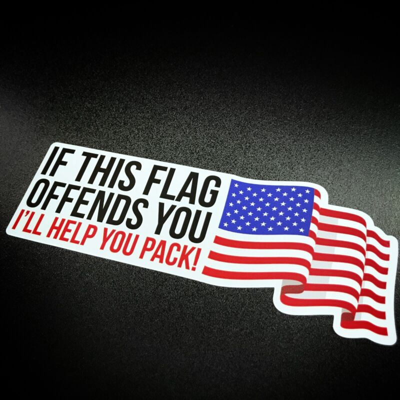 If This Flag Offends You - Sticker