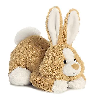 "New Aurora 11"" Tushies Plush Bunny Rabbit Cuddly Soft Toy Teddy - 16867"