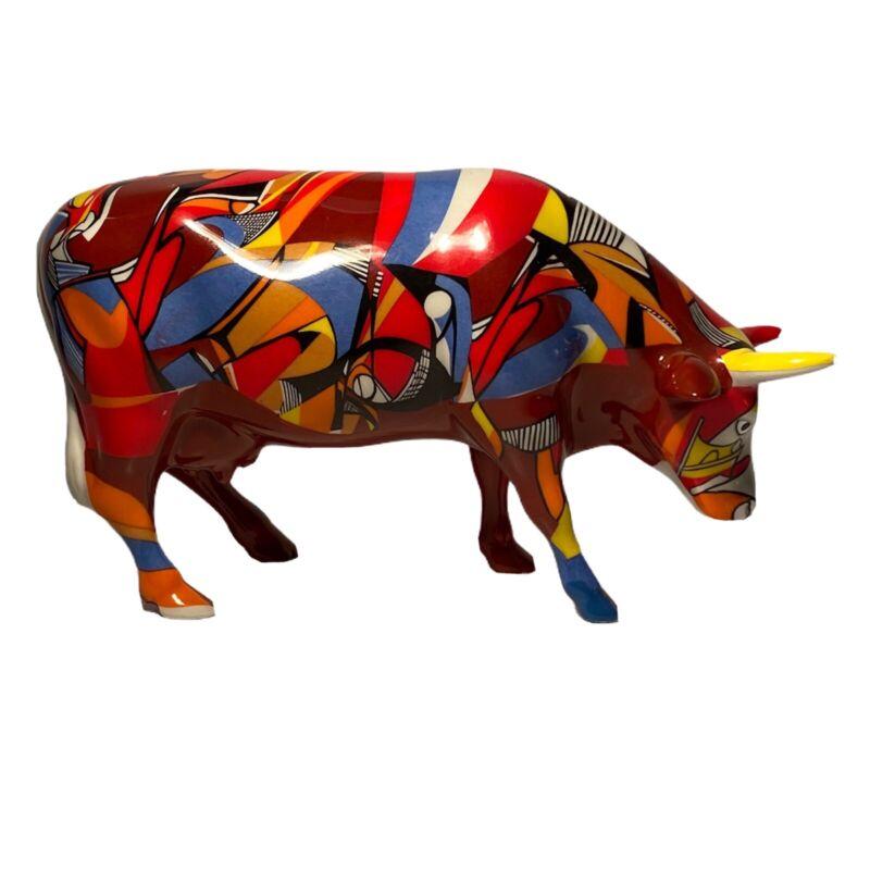 "Cow Parade #7303 ""Psycowdelicowwow"" 2002"