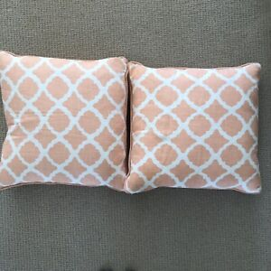 Down filled decorative pillows