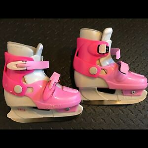 Patins ajustable fille taille 10-13
