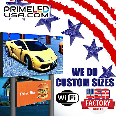 Led Sign P10 Smd Full Color Indooroutdoor Wifi Led 37.75 X 37.75