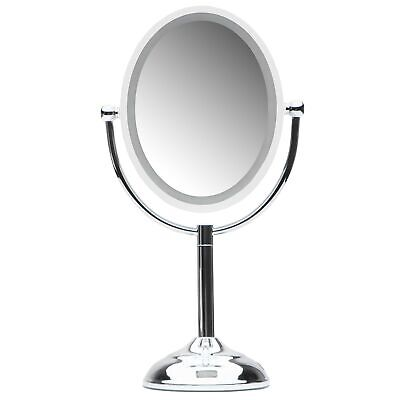Mirrorvana Oval Sensor Mirror | Motion Sensor-Activated LED