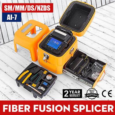 Ai-7 Smmm Automatic Fiber Optic Splicing Machine Fusion Splicer Shipping Free
