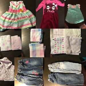 Must Go!!! Baby Girls Clothes