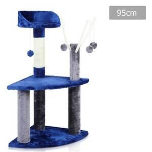 95cm Cat Post Furniture Tree Gym House Condo Kitten Scratching