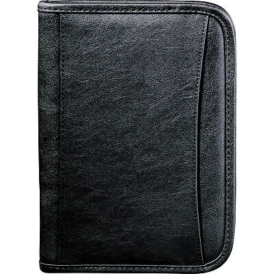 0600-06 Leeds Durahyde Jr Zippered Padfolio