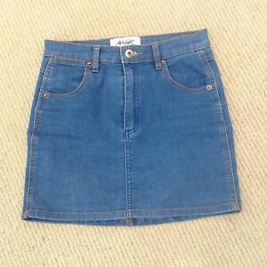 Denim skirt size 8 Eva& Ever.  DISSH Collingwood Park Ipswich City Preview