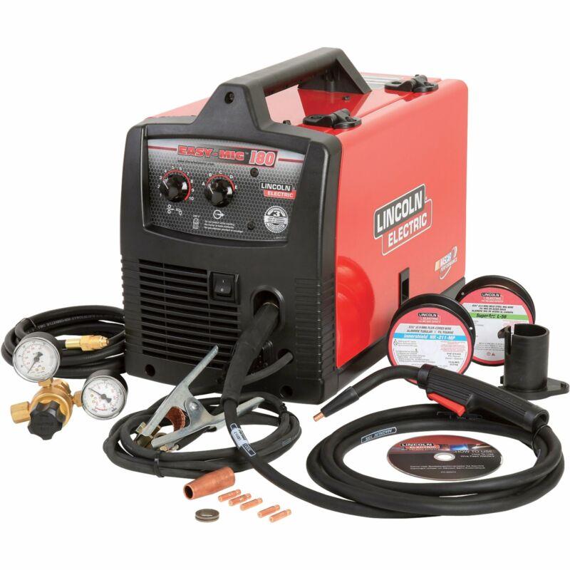 Lincoln Easy MIG 180 Welder-180 Amps 230V #K2698-1