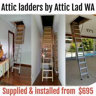 Paul Mounsey Attic Ladders & Attic Storage Perth