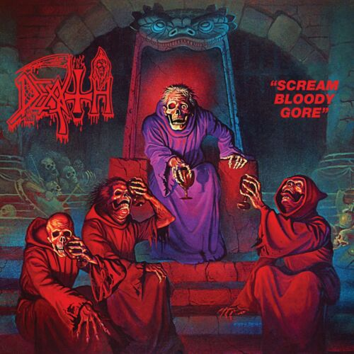 DEATH Scream Bloody Gore BANNER HUGE 4X4 Ft Fabric Poster Flag metal band art