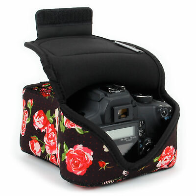 DSLR Camera Sleeve Case w/ DuraNeoprene Technology, Accessor