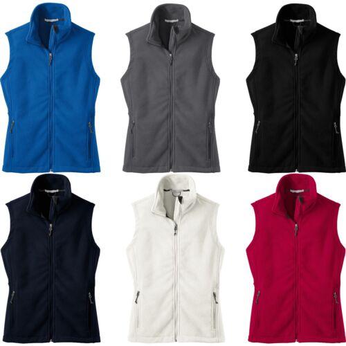 Ladies Winter Warm Polar Fleece Vest Womens XS S M L XL 2XL 3XL 4XL Womens NEW
