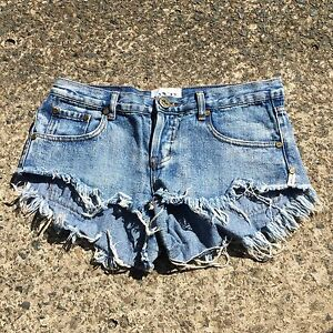 One teaspoon bonita denim cut off shorts Bondi Eastern Suburbs Preview