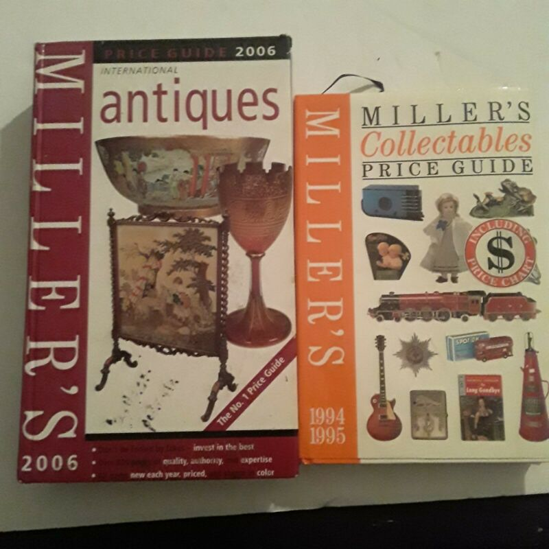 Millers Antique and Collectable Price Guides Two Books Included