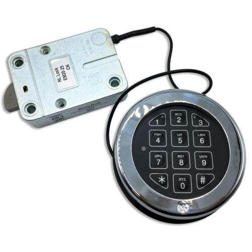 Electronic Digital Keypad Lock for Safes, Replaces LaGard Basic, UL Listed Lock.