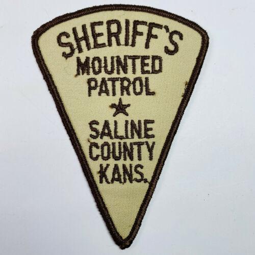 Saline County Sheriff Mounted Patrol Kansas KS Patch