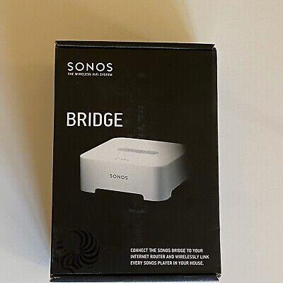 Sonos BRIDGE V4.0 Wireless HiFi System White New In Open Box