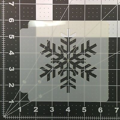 Snowflake 100 Stencil