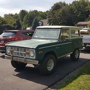 Restored Parts from Original 1971 Ford Bronco