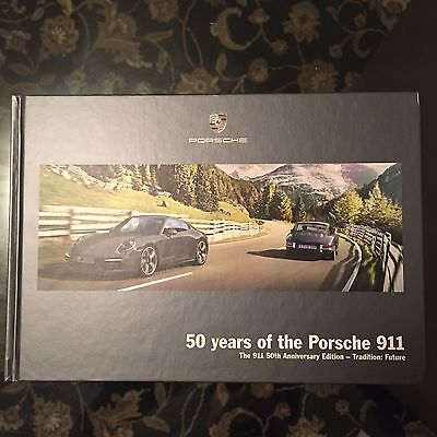 PORSCHE 991 911 50th ANNIVERSARY SALES BROCHURE 2013-2014.  ULTRA RARE!!!!!!!!!!