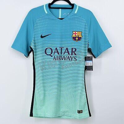 2016-17 Barcelona Player Issue Vapor Match UCL Third Shirt Nike *BNWT* M...
