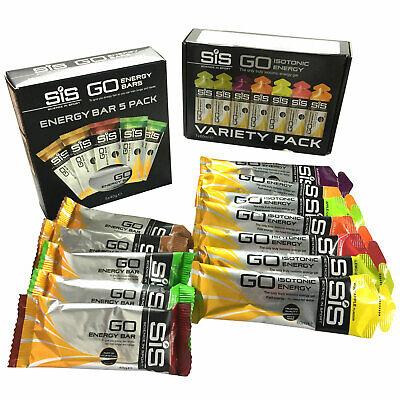 (Science In Sport) SIS Go Isotonic Energy Gel Pack & Go Energy Bar Mini Pack