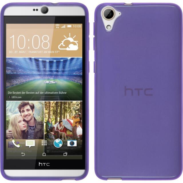 Silicone Case HTC Desire 826 - transparent purple