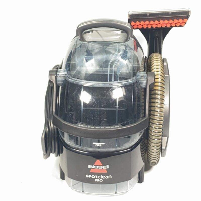 BISSELL 3624 SpotClean Pro Pet Portable Carpet Upholstery Cleaner