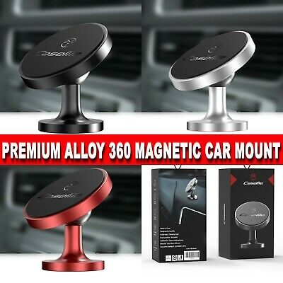 In Car Magnetic Phone Holder Universal fits all Phones Dashboard Mount 3 Colours